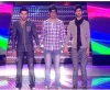 star academy fourth prime on April 22nd 2011 picture of the three nominees Housam with Rahma and Abdul Salam