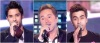 Marwan Khoury along with Houssam Taha and Ahmed Ezzat at the fifith prime of star academy8 on April 29th 2011