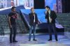 star academy fifth prime on April 29th 2011 picture of Marwan Khoury along with Houssam Taha and Ahmed Ezzat