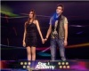 The 6th prime of star academy 2011 on May 6th 2011 picture of Karima and Ahmad Ezzat waiting for their friends votes