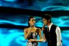 the 8th prime of star academy on May 20th 2011 picture of Umaima and Abdel Salam singing together on stage