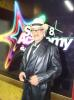 photo of Lebanese singer Tony Hanna at the backstage of the 7th prime of star academy 1