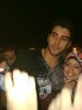 photo of Karim Kamel at his arrival party in Alexandria after he left star academy 5
