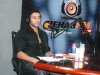 photo of Karim Kamel at the rehab fm radio station studio for a live interview 17