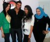 photo of Karim Kamel at the rehab fm radio station studio for a live interview 15