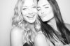 Taylor Cole with Sarah Roemer on July 24th 2010 at the NERD Party Comic Con Paddle Jam Photobooth 3