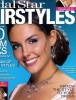 Taylor Cole Photoshoots on the cover of a bridal hairstyle magazine