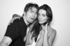 Taylor Cole with Jason Ritter on July 24th 2010 at the NERD Party Comic Con Paddle Jam Photobooth 4