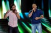 StarAcademy8 prime on June 3rd 2011 picture of Ahmed Al Sherif singing with Ahmed Ezzat from Syria