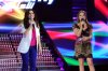 The eleventh prime of star academy on June 10th 2011 picture of Hilda Khalifeh with Yara