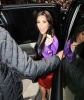 Kim Kardashian seen on June 8th 2011 weaing a colorful dress at the launch of her fragrance at Debenham in London 2