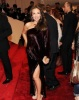 Thalia arrives to the Alexander McQueen Savage Beauty Costume Institute Gala held on May 2nd 2011 at the Metropolitan Museum of Art 3