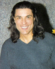 Osvaldo Rios photo shoot face closeup with long hair