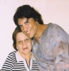 Osvaldo Rios personal photos with his mother