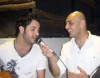 houssam taha hosts a dinner for his guest efrem salameh from lebanon in a syrian restaurant