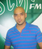 new photo of efrem salameh at rotana style radio station for an interview live 2