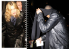 Brahim Zaibat seen leaving the Wolseley restaurant with Madonna on December 21st 2010 in London 1