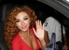 backstage of the 13th prime of staracademy8 on June 24th 2011 photo of myriam fares as she arrives to the lbc building 3