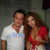 backstage of the 13th prime of staracademy8 on June 24th 2011 photo of myriam fares as she arrives to the lbc building 1