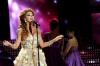 the thirteen prime of staracademy8 on June 24th 2011 picture of miriam fares singing solo on stage