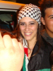 after the 14th prime of July 1st 2011 picture of Layan Albazlamit after leaving the LBC building 1