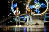The 14th prime of staracademy8 on July 1st 2011 picture of singer Fadi Andrawos with Ahmed Ezzat from Egypt together on stage