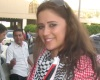 Layan Bazlamit picture on July 3rd 2011 as she arrives to Amman airport in Jordan 2