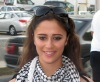 Layan Bazlamit picture on July 3rd 2011 as she arrives to Amman airport in Jordan 3