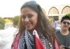 Layan Bazlamit picture on July 3rd 2011 as she arrives to Amman airport in Jordan 9