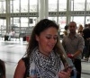 Layan Bazlamit picture in Beirut airport on July 3rd 2011 to depart back to jordan after she left staracademy 4