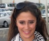 Layan Bazlamit picture on July 3rd 2011 as she arrives to Amman airport in Jordan 4
