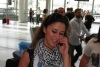 Layan Bazlamit picture in Beirut airport on July 3rd 2011 to depart back to jordan after she left staracademy 3