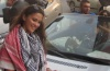 Layan Bazlamit picture on July 3rd 2011 as she arrives to Amman airport in Jordan 1