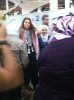 Layan Bazlamit picture on July 3rd 2011 as she arrives to Amman airport in Jordan 24