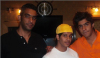 photo of the Kuwaiti student of star academy Abdul Salam after leaving star academy at the studio wearing an orange tshirt 4