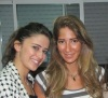 Layan Albazlamit with her sister