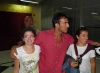 Wadi Abi Raed picture on July 8th 2011 as he arrives to the LBC building for the 15th prime of starac 5