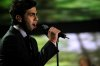 the last prime of star academy 8 on July 15th 2011 picture of Ahmad Ezzat singing onstage