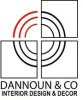 dannoun interior design and decor logo