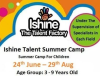 Ishine Summer camp 2012 poster