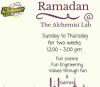 ramadan alchemist