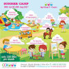 child concept summer camp